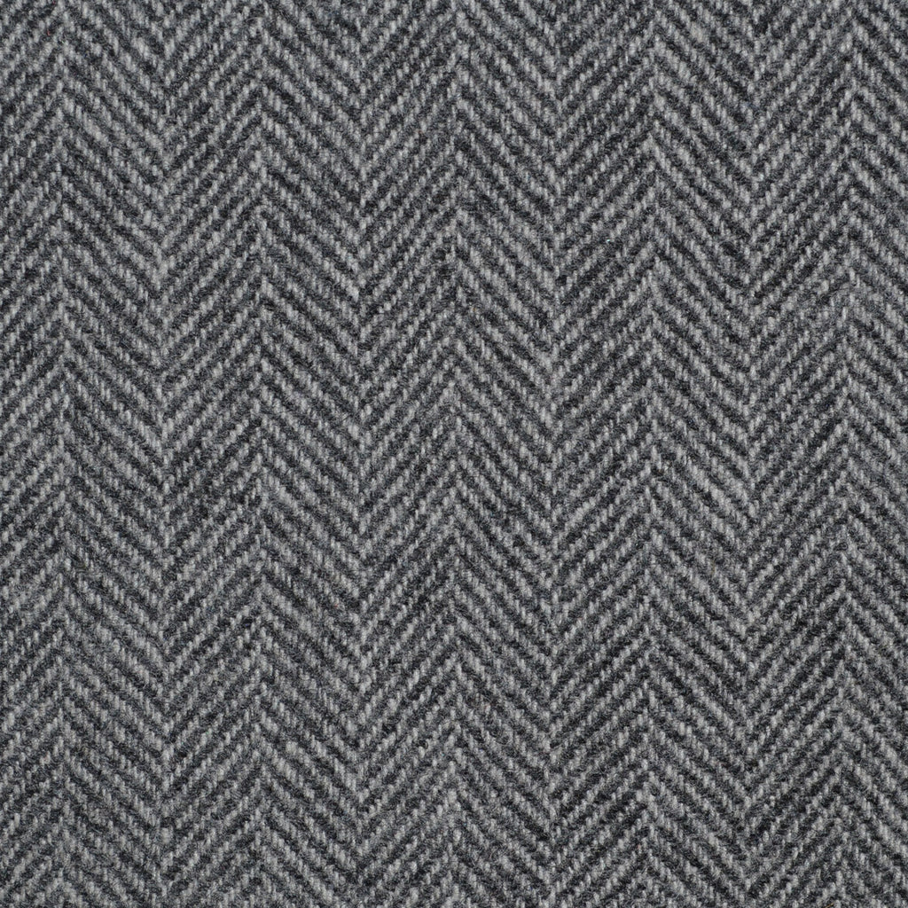 Light Grey Herringbone Cashmere Jacketing