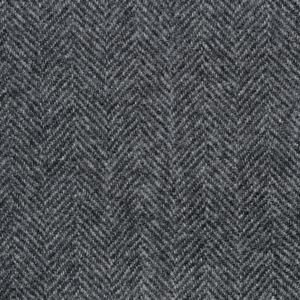 Medium Grey Herringbone Cashmere Jacketing