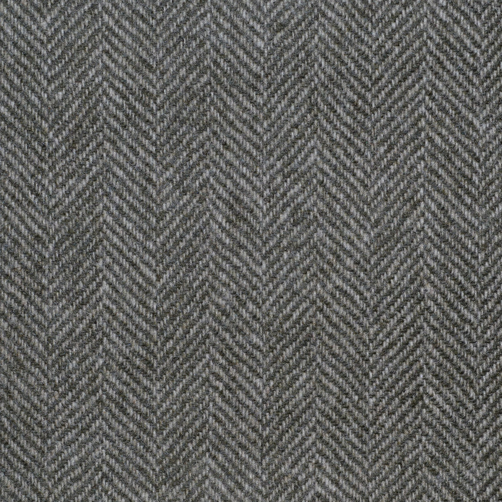 Light Green Herringbone Cashmere Jacketing