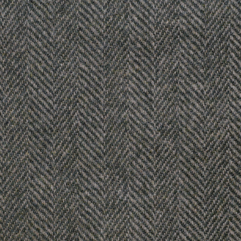 Moss Green Herringbone Cashmere Jacketing