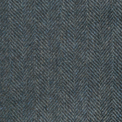 Loden Green Herringbone Cashmere Jacketing