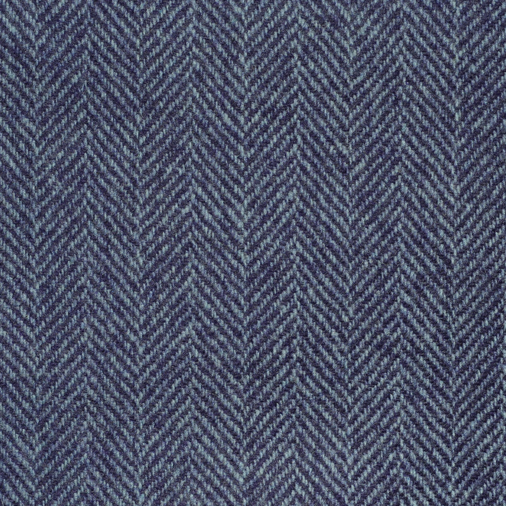 Purple Herringbone Cashmere Jacketing
