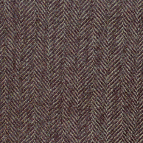 Rust Herringbone Cashmere Jacketing