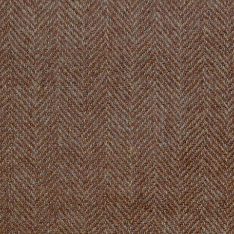 Tan Herringbone Cashmere Jacketing