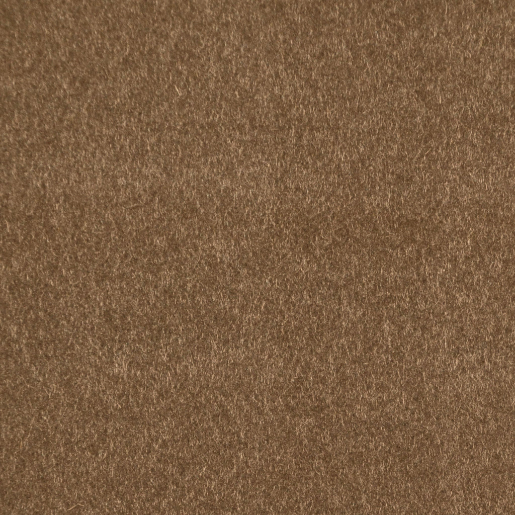 Medium Brown Cashmere Coating