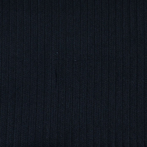 Dark Navy Blue 5 Wale Corduroy