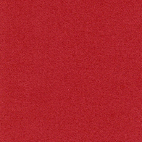 Bright Red Moleskin