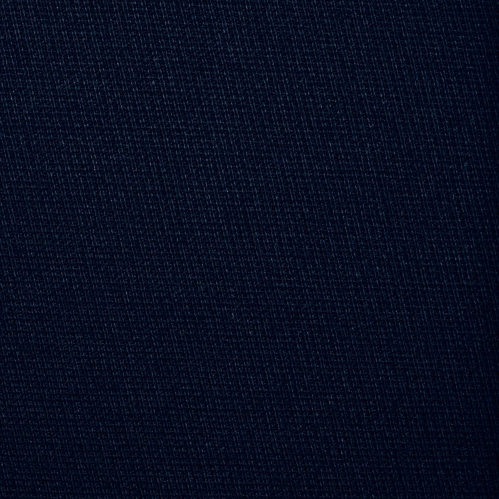 Dark Navy Blue Cavalry Twill Cotton Suiting