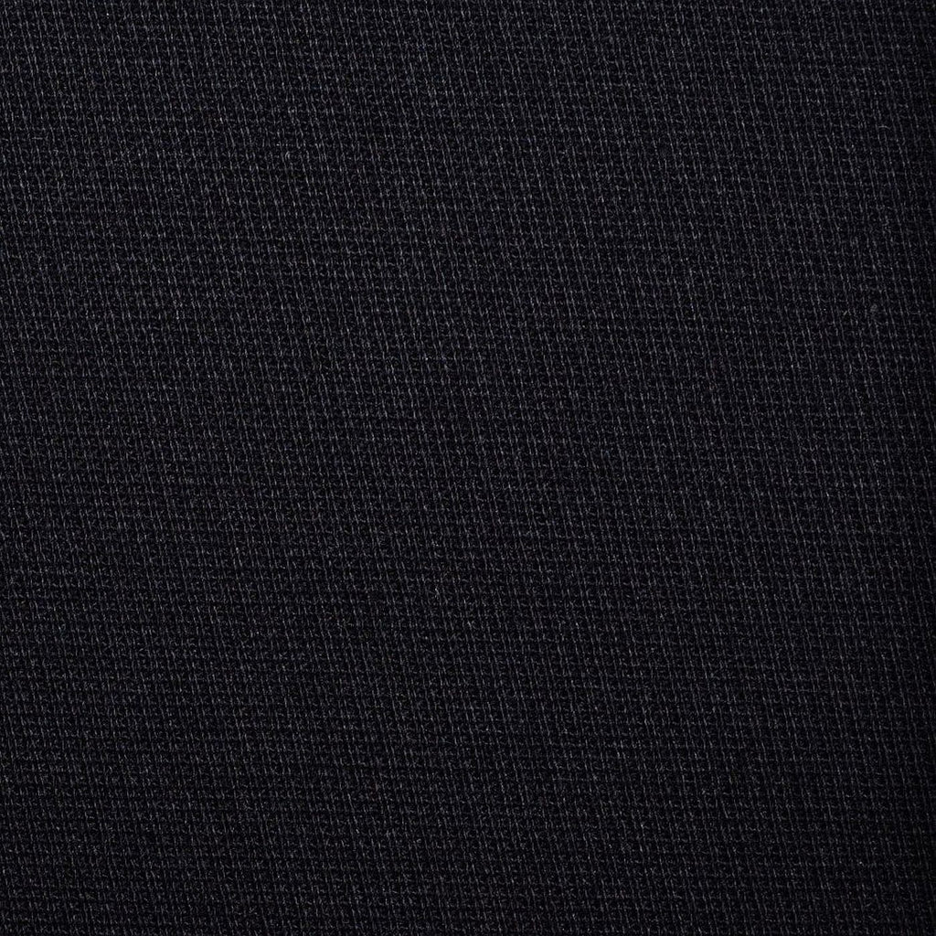 Black Cavalry Twill Cotton Suiting