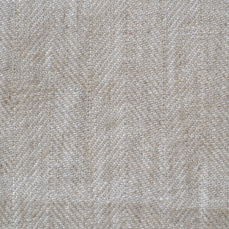 Natural Herringbone Linen
