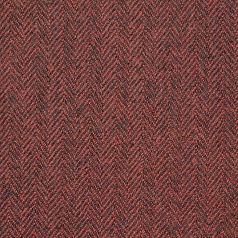 Red Herringbone Holland & Sherry Jacketing