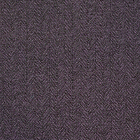 Purple Herringbone Holland & Sherry Jacketing