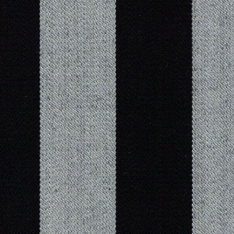 Black and White Blazer Stripe Jacketing by Holland & Sherry