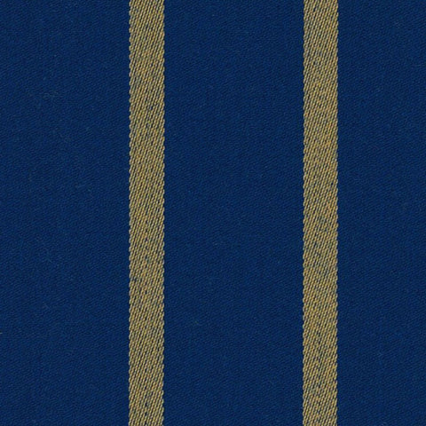 Royal Blue and Yellow Blazer Stripe Jacketing by Holland & Sherry