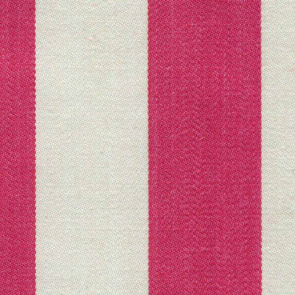 Fuchsia and White Blazer Stripe Jacketing by Holland & Sherry