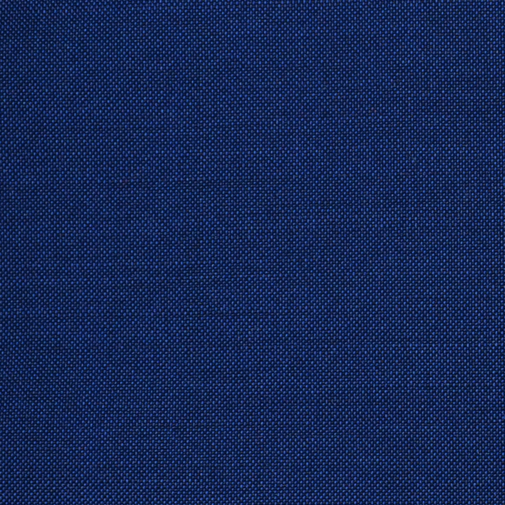 Azure Blue Solid Super 100's Wool & Kid Mohair Suiting By Holland & Sherry