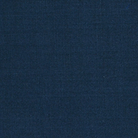 Dark Airforce Blue Solid Super 100's Wool & Kid Mohair Suiting By Holland & Sherry