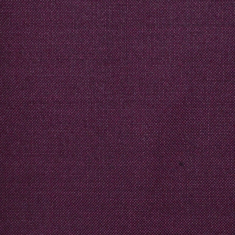 Maroon Solid Super 100's Wool & Kid Mohair Suiting By Holland & Sherry
