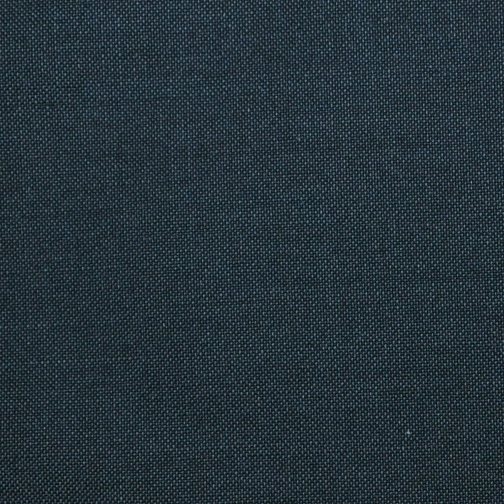 Charcoal Grey Solid Super 100's Wool & Kid Mohair Suiting By Holland & Sherry