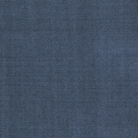 Medium Grey Solid Super 100's Wool & Kid Mohair Suiting By Holland & Sherry