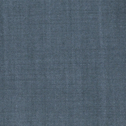 Grey Solid Super 100's Wool & Kid Mohair Suiting By Holland & Sherry