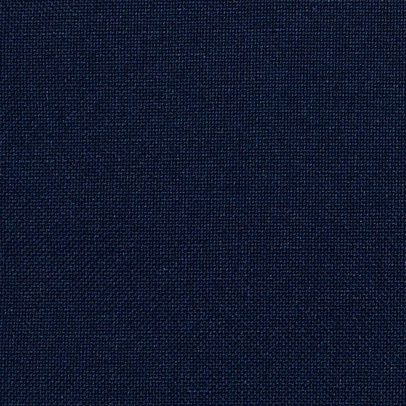Midnight Blue Solid Super 100's Wool & Kid Mohair Suiting By Holland & Sherry