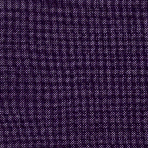Purple Solid Super 100's Wool & Kid Mohair Suiting By Holland & Sherry