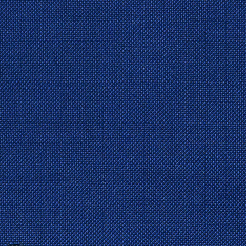 French Blue Solid Super 100's Wool & Kid Mohair Suiting By Holland & Sherry