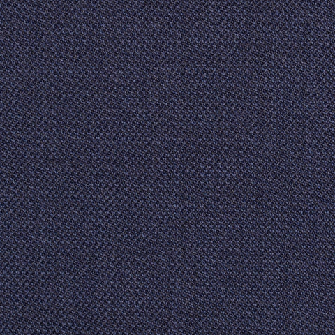 Navy Blue Pick & Pick Super 100's All Wool Suiting By Holland & Sherry