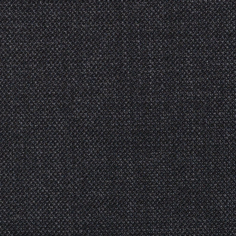 Dark Grey Pick & Pick Super 100's All Wool Suiting By Holland & Sherry