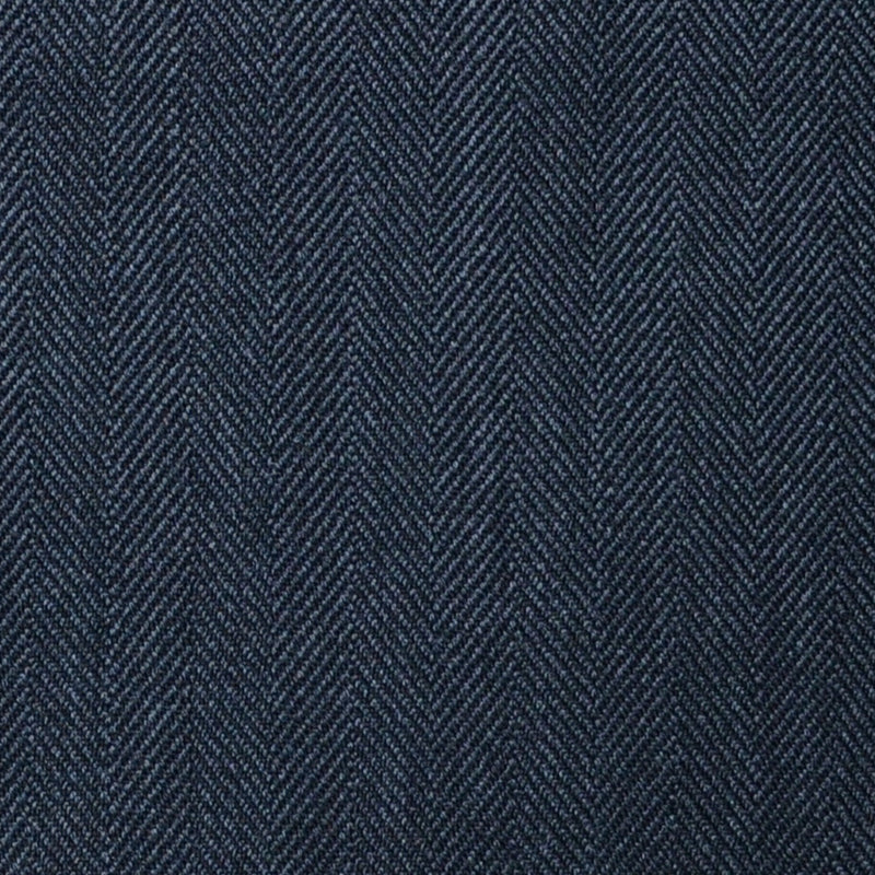 Dark Grey Herringbone Super 100's All Wool Suiting By Holland & Sherry