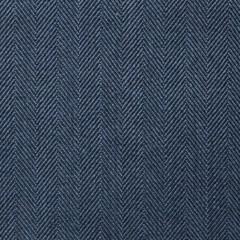 Medium Grey Herringbone Super 100's All Wool Suiting By Holland & Sherry