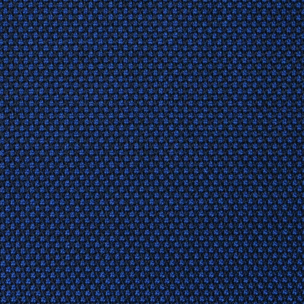Bright Navy Blue Birdseye Super 100's All Wool Suiting By Holland & Sherry