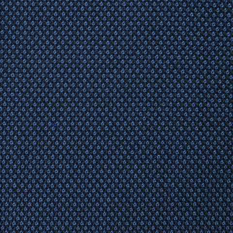 Navy Blue Birdseye Super 100's All Wool Suiting By Holland & Sherry