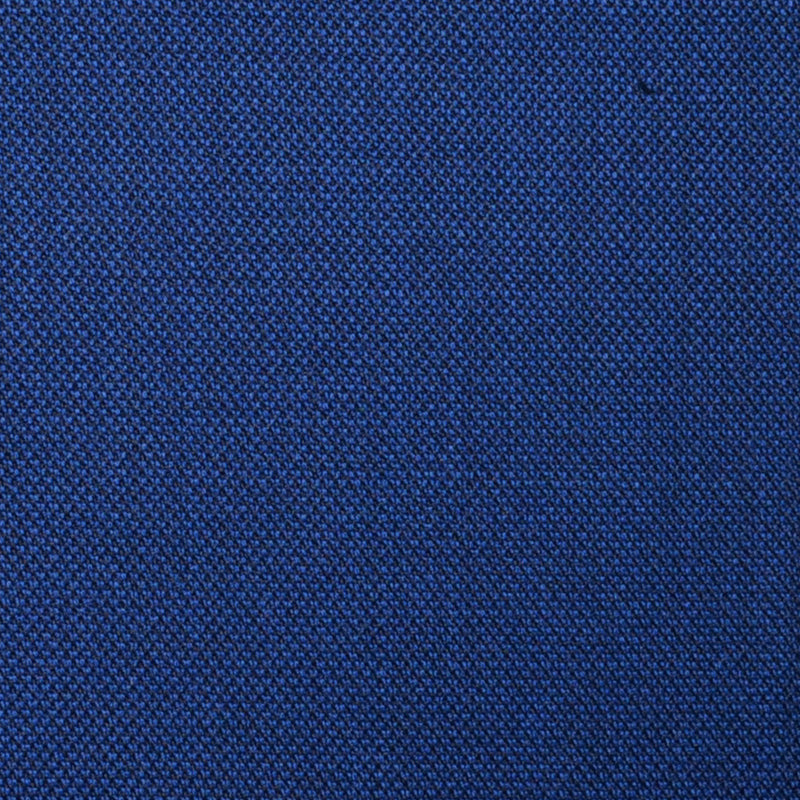 Bright Navy Blue Sharkskin Super 100's All Wool Suiting By Holland & Sherry