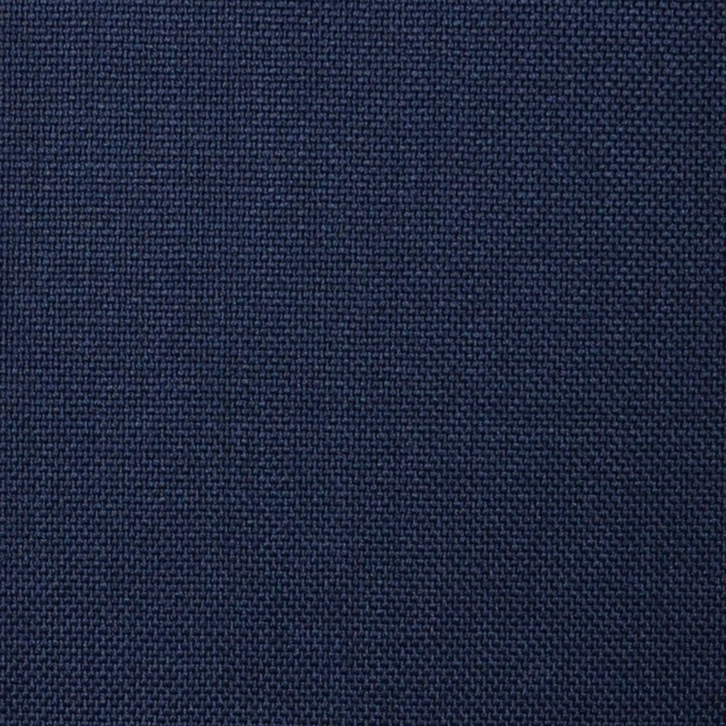 Navy Blue Hopsack Super 100's All Wool Suiting By Holland & Sherry