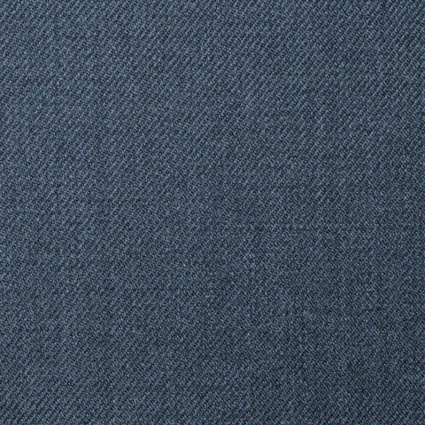 School Grey Plain Twill Super 100's All Wool Suiting By Holland & Sherry