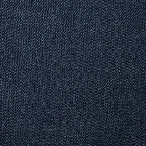 Dark Grey Plain Twill Super 100's All Wool Suiting By Holland & Sherry
