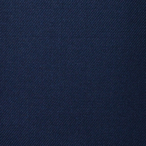 Navy Blue Plain Twill Super 100's All Wool Suiting By Holland & Sherry