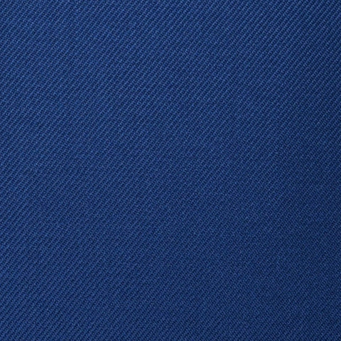 Medium Blue Plain Twill Super 100's All Wool Suiting By Holland & Sherry