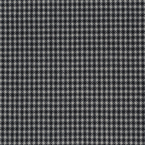 Black and White Small Check Holland & Sherry Jacketing