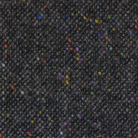 Dark Grey All Wool Irish Donegal Tweed