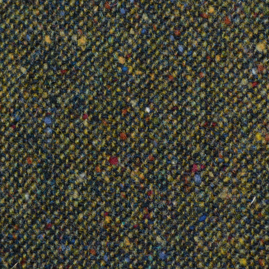 Moss Green All Wool Irish Donegal Tweed Yorkshire Fabric