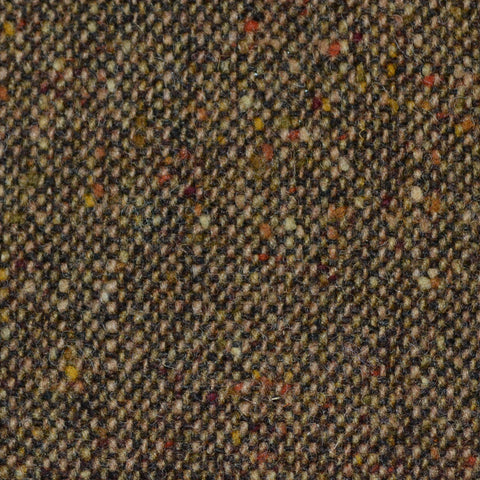 Light Brown All Wool Irish Donegal Tweed