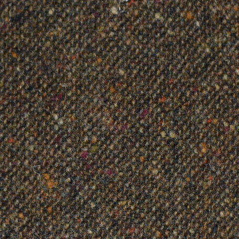 Brown All Wool Irish Donegal Tweed
