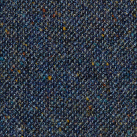 Blue/Green All Wool Irish Donegal Tweed
