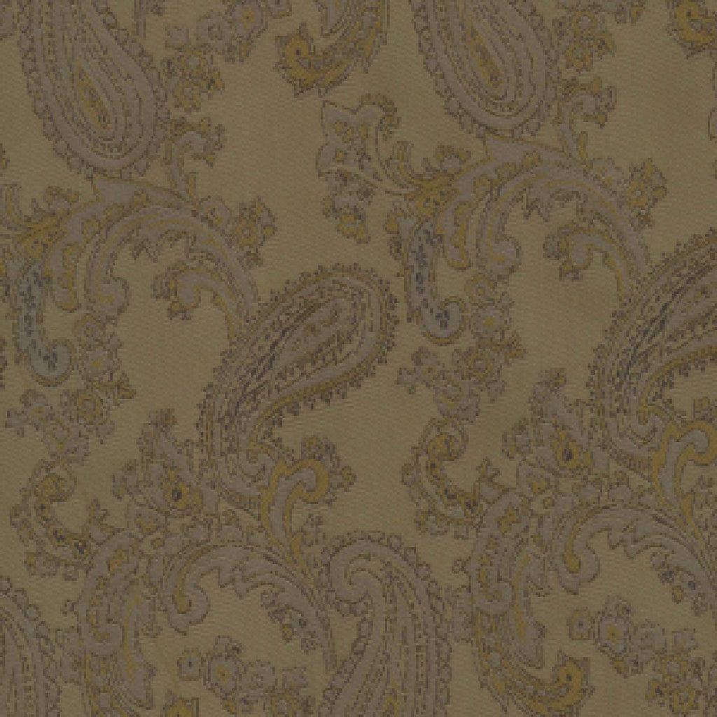 Brown Paisley Poly/Viscose Lining