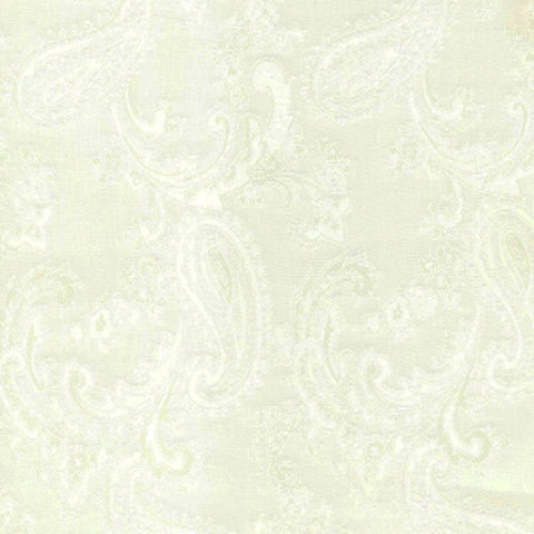 Cream Paisley Poly/Viscose Lining