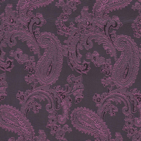 Purple & Pink Paisley Poly/Viscose Lining