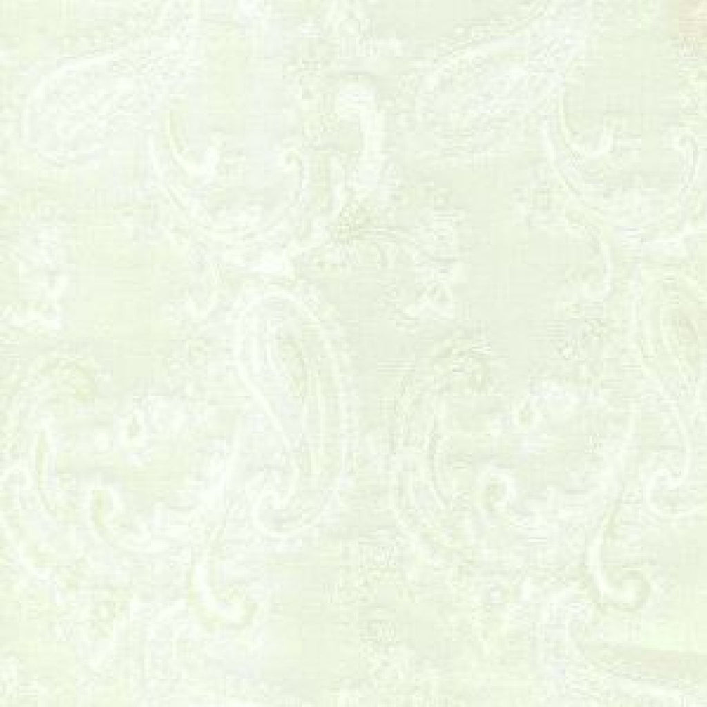 Antique White Paisley Poly/Viscose Lining
